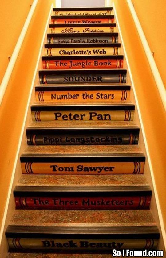 Question If You Had Book Stairs What Titles Would