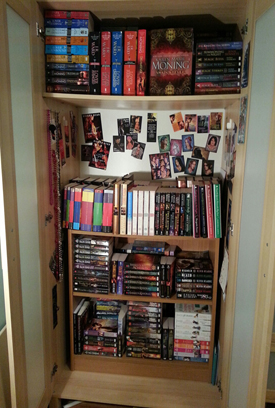 my book closet - January 2013