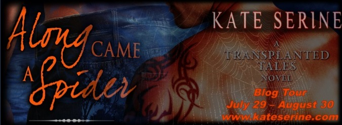 Along Came a Spider Blog Tour Button